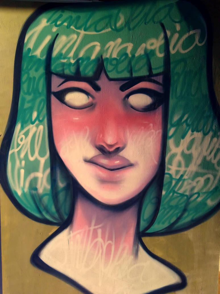 Graffiti - Pink
