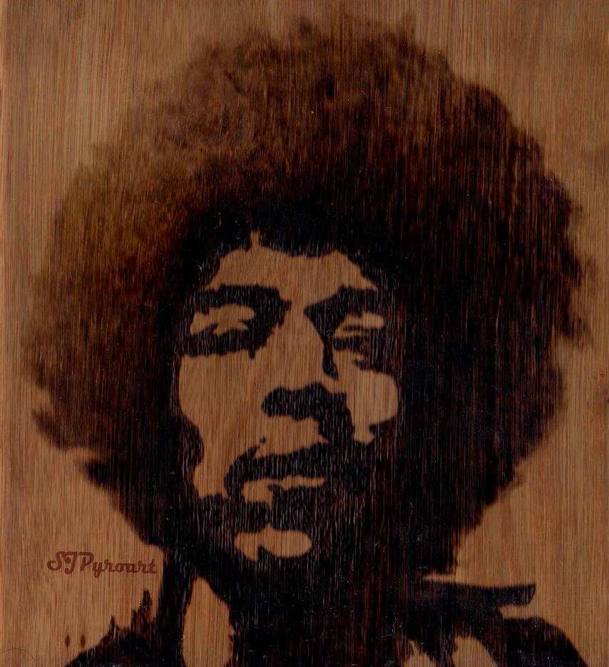 Jimi Hendrix by sujayjames