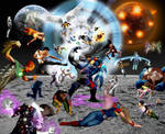 Legion Vs. Darkseid by Gene-Mederos