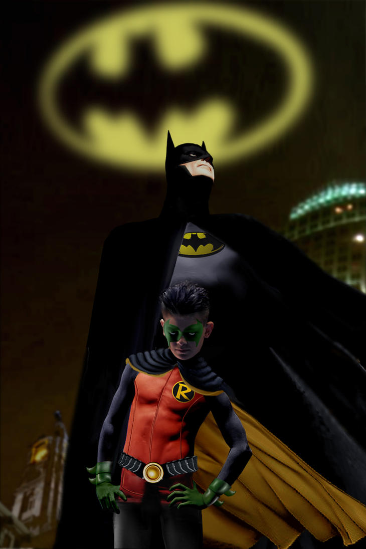 Dark Knight and Son by ColdAngel2