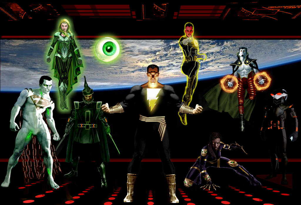 The Legion of Doom by Gene-Mederos