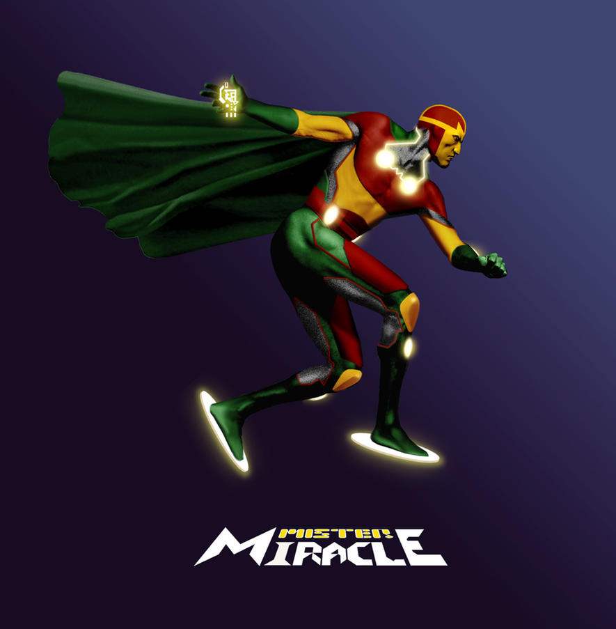 Mister Miracle by Gene-Mederos