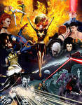 X-Men: Dark Phoenix Saga by Gene-Mederos