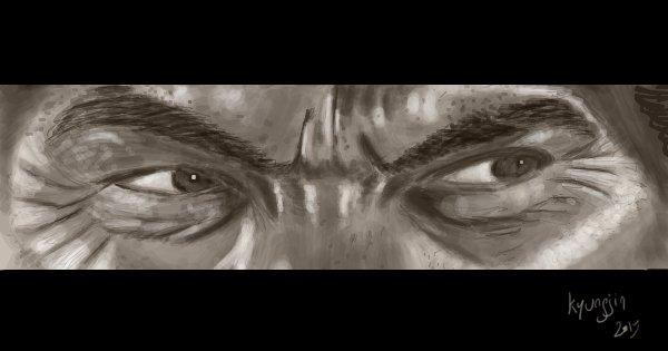 Lee Van Cleef yeux