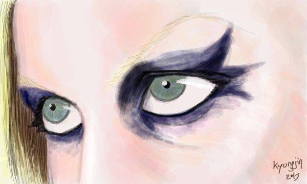 Georgia Train yeux
