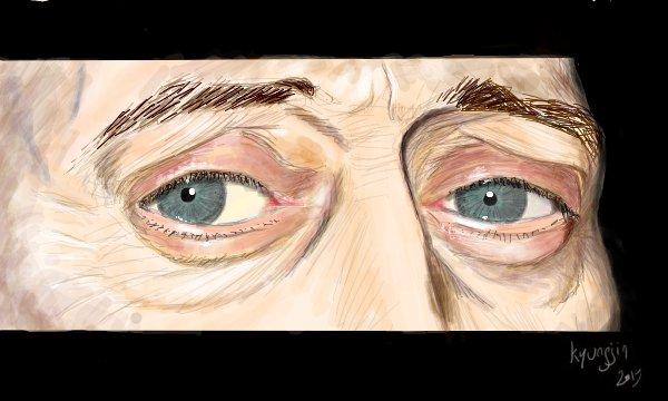 yeux de Steve Buscemi