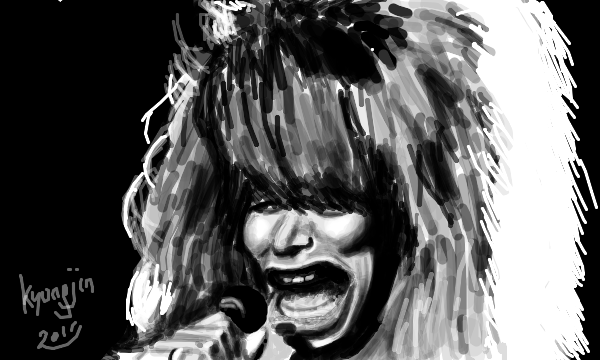 Tina Turner caricature