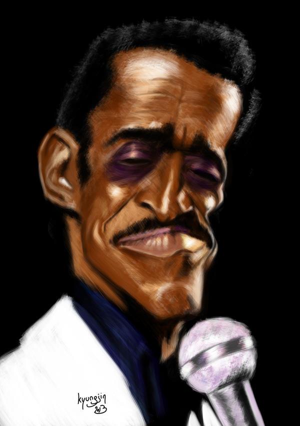 Samy Davis caricature