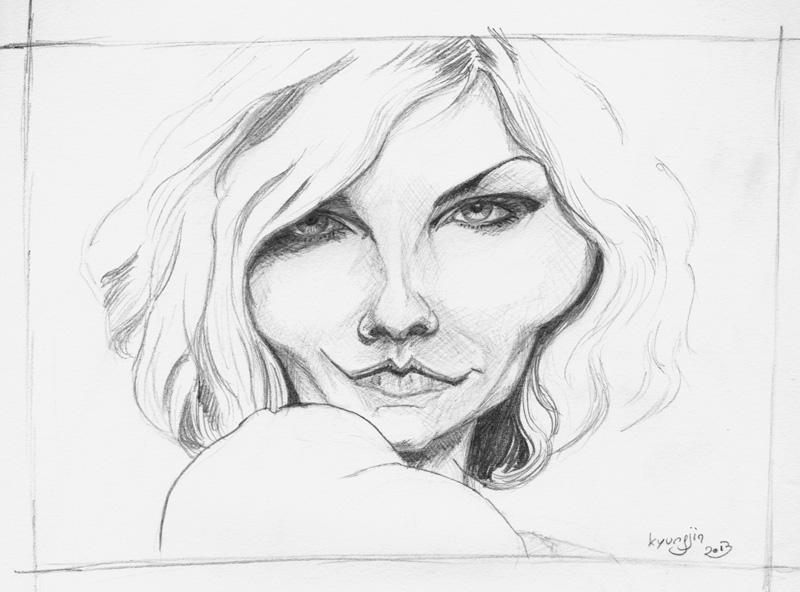 Kirsten Dunst caricature