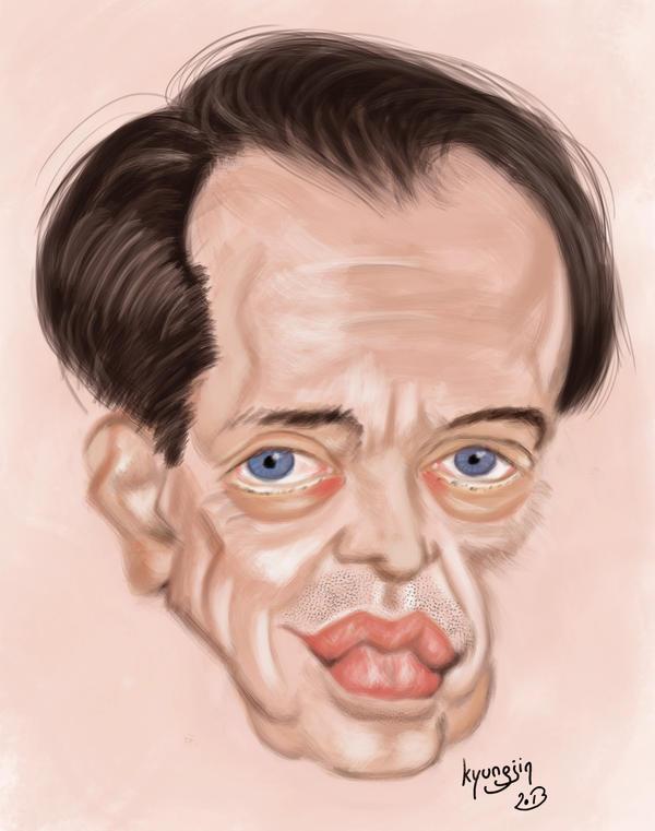 caricature de Steve Buscemi