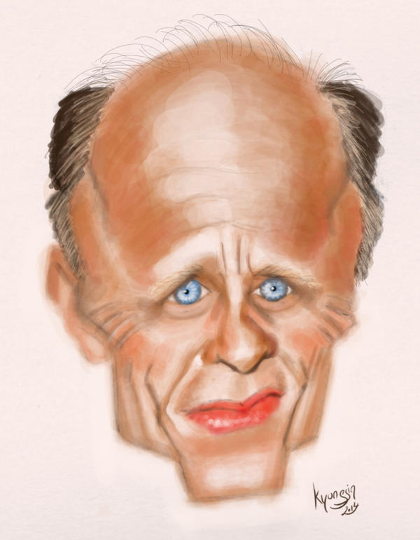 Ed Harris caricature