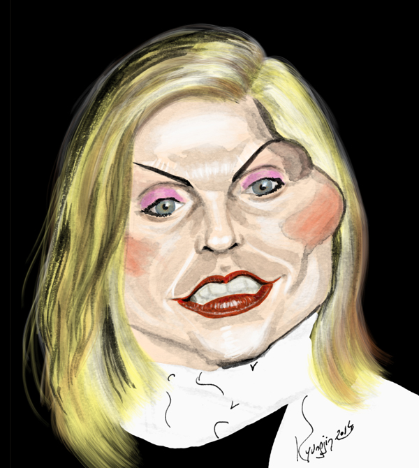 Debbie Harry caricature