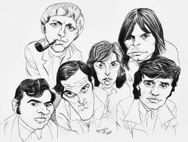 Monty Python caricature