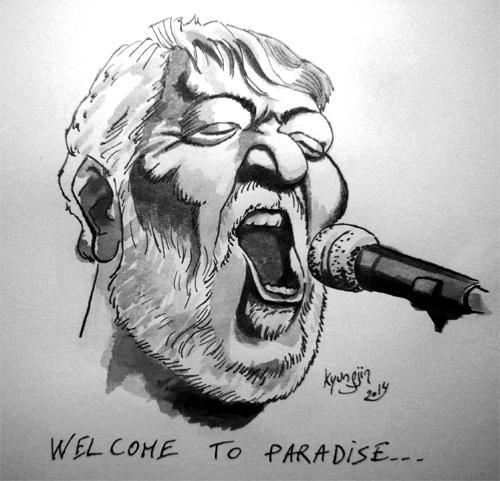 Schultz caricature