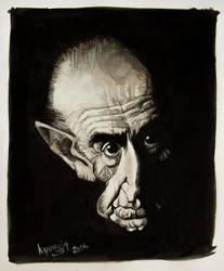 Alberto Breccia caricature by kyungjin74