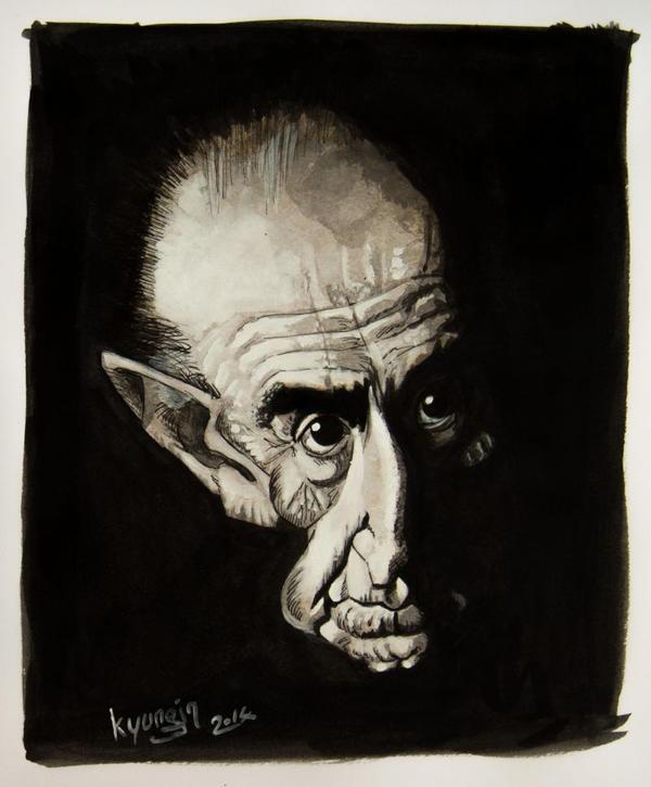 Alberto Breccia caricature
