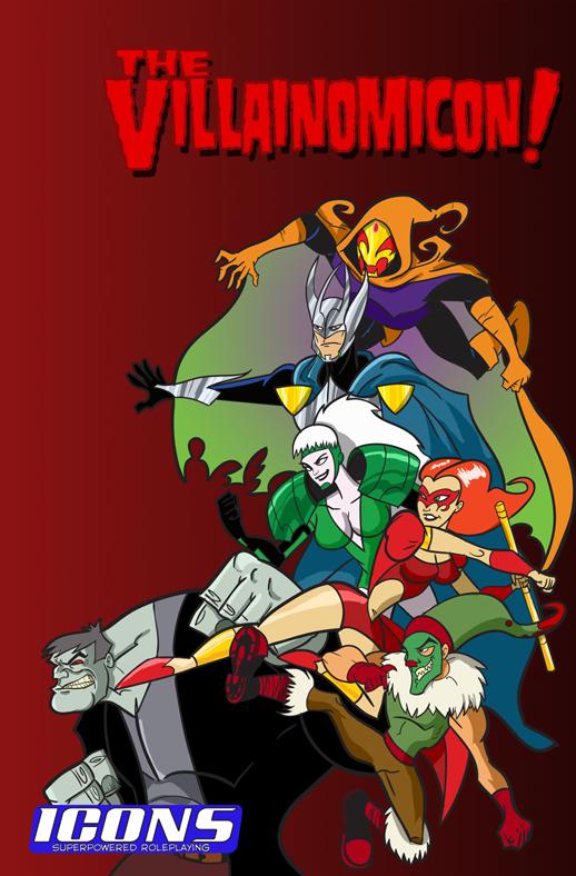 Cover for Villainomicon v2