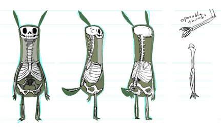 Antena Bones by okavango