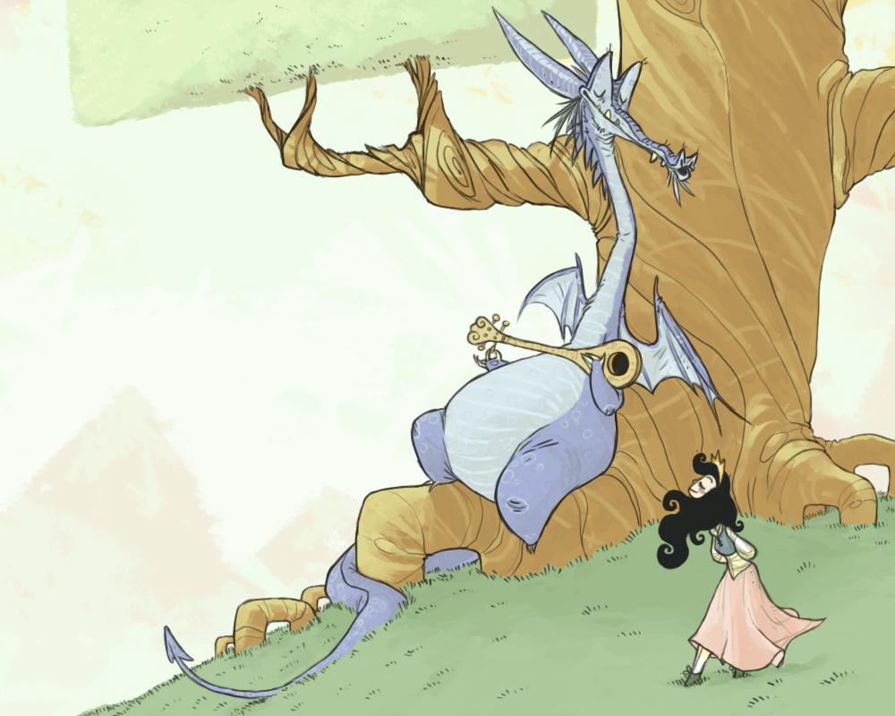 CONT. ENTRY: Dragon Song by okavango
