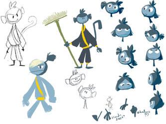 FUFUFU-blue guy