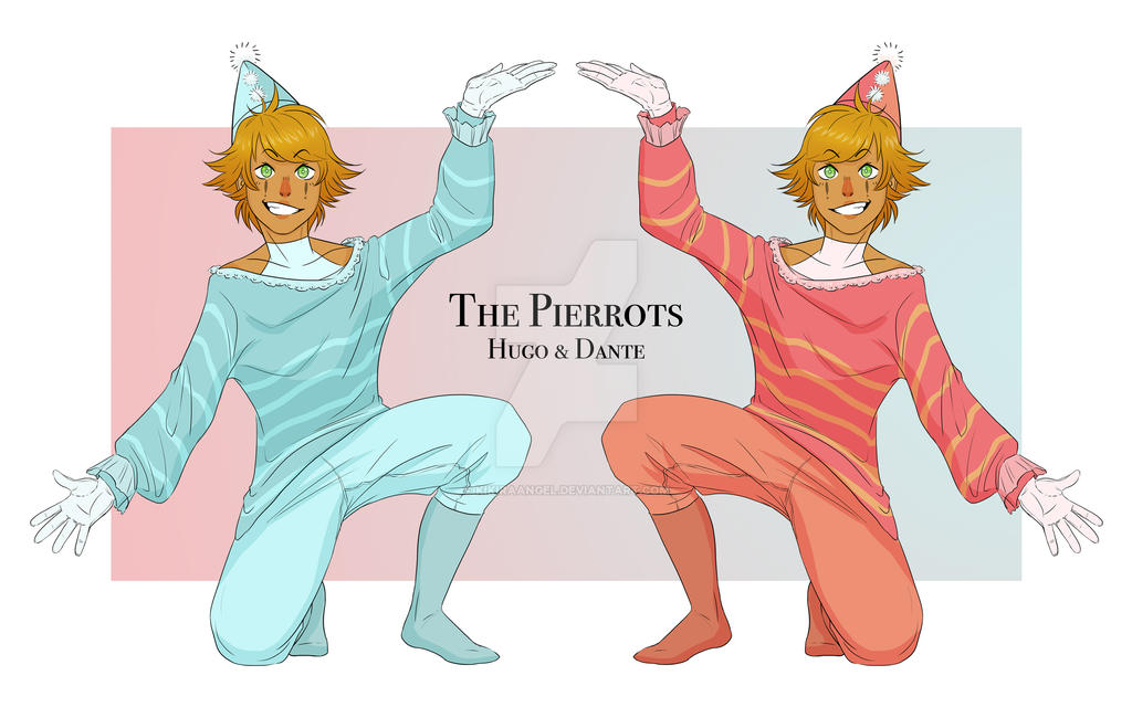 The Pierrots by KikiraAngel
