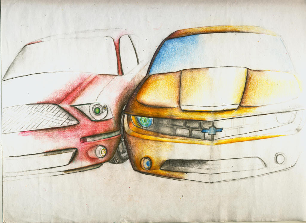 American Muscle Cars Mustang And Camaro By On Deviantart