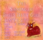 Naming of Rose's Baby by koorihimesama