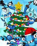 Frosticons Celebrate Christmas