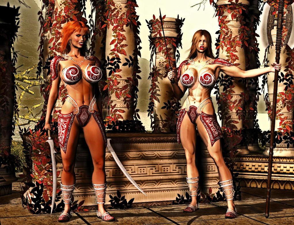 Amazone fantasy nackt porncraft videos