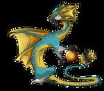 Sun-Frill Dragon (Male)