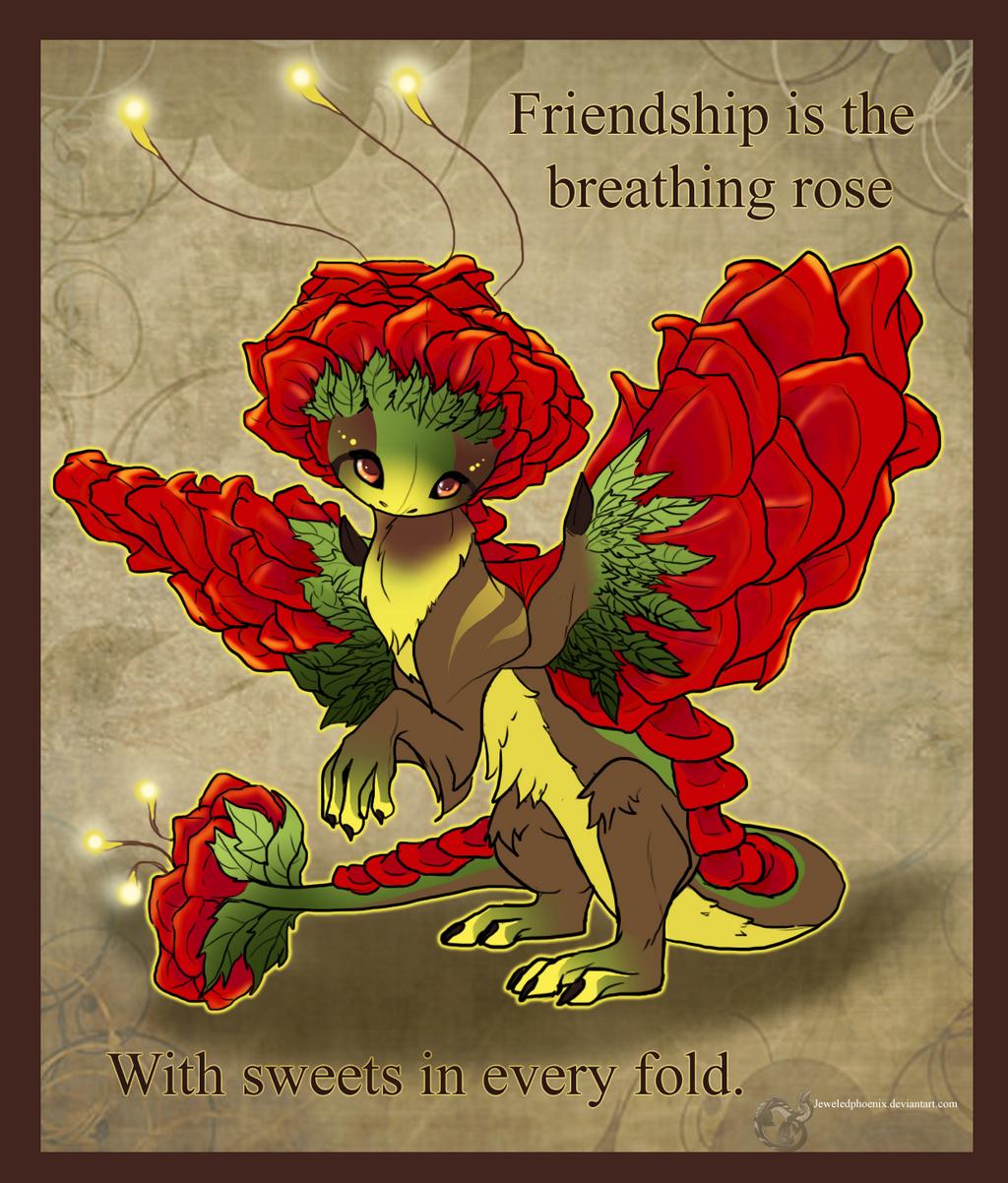 Schön Rose Dragon Valentine By Jeweledphoenix Rose Dragon Valentine By  Jeweledphoenix