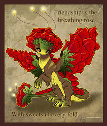 Rose Dragon Valentine