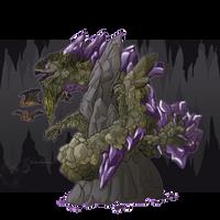 Lunamoth19's Earth Dragon by jeweledphoenix