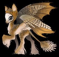 Commission: Owl Kaeri (Bat Hybrid)