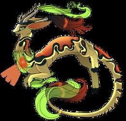 ThimbleTin's Custom Starheart Dragon