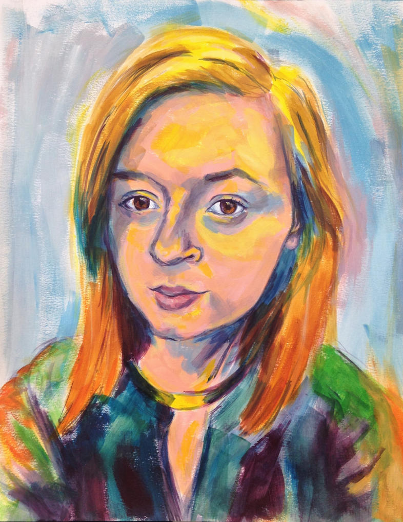 Self portrait by Luciiya