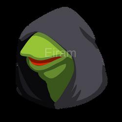 dark kermit by EriamAshantii