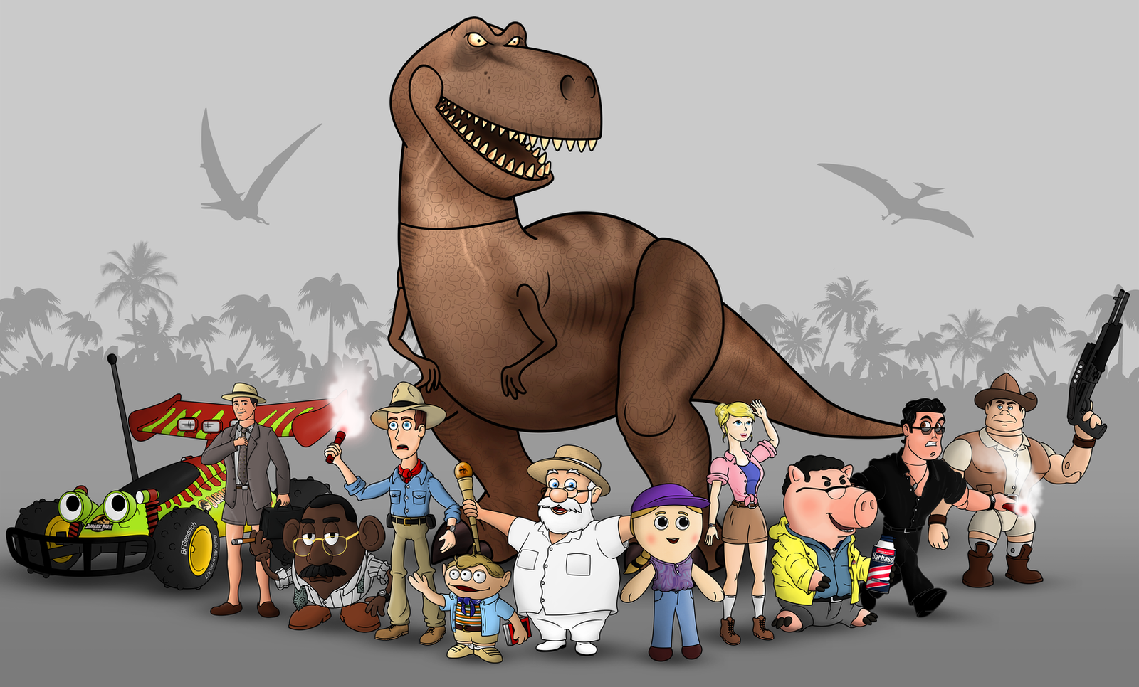 Jurassic Toy Park by DonTedesco on DeviantArt