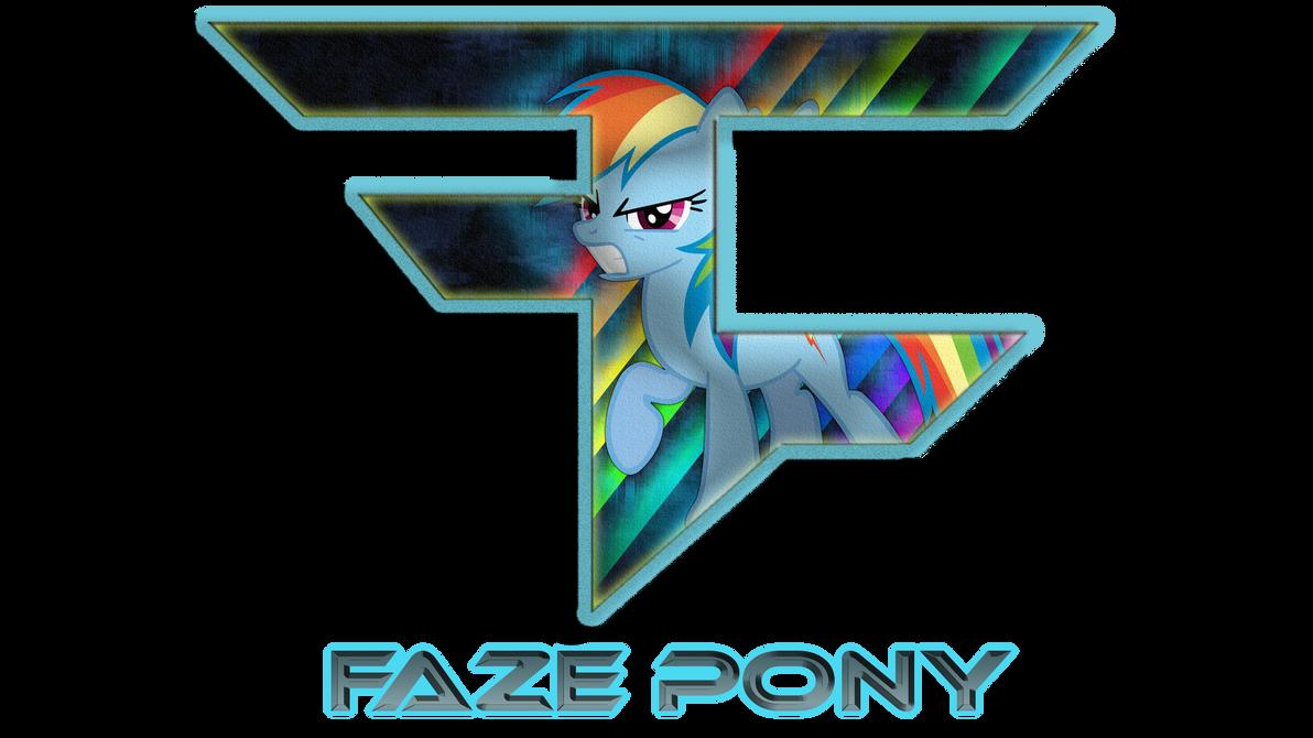 FaZe Pony by Ra... Faze Apex Logo
