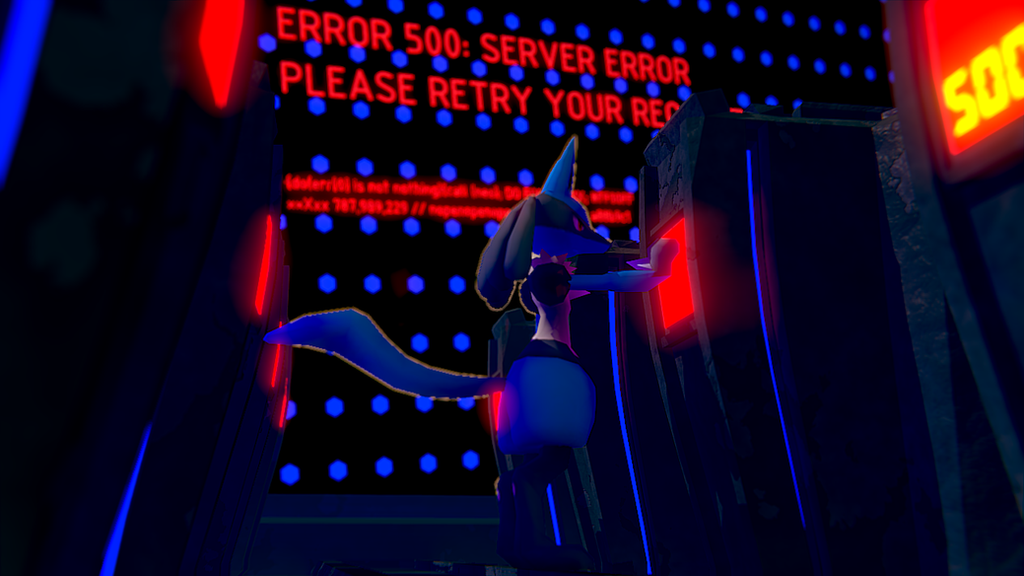 Server Error [3D DOWNLOAD] By TheModerator On