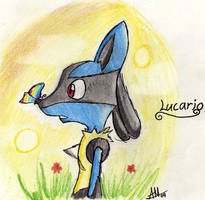 Lucario Butterfly by Smudgeandfrank