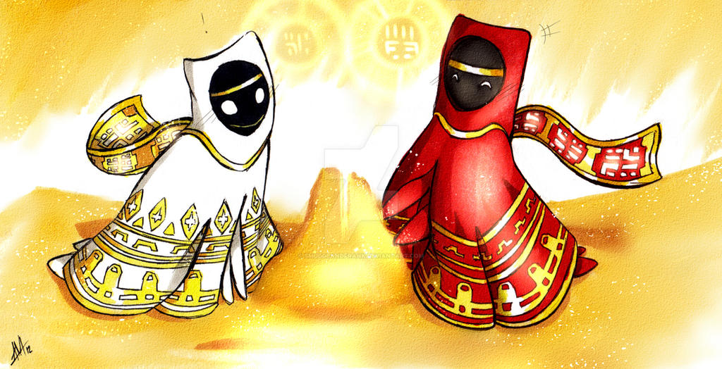 Journey: A Summit in the Sand by Smudgeandfrank
