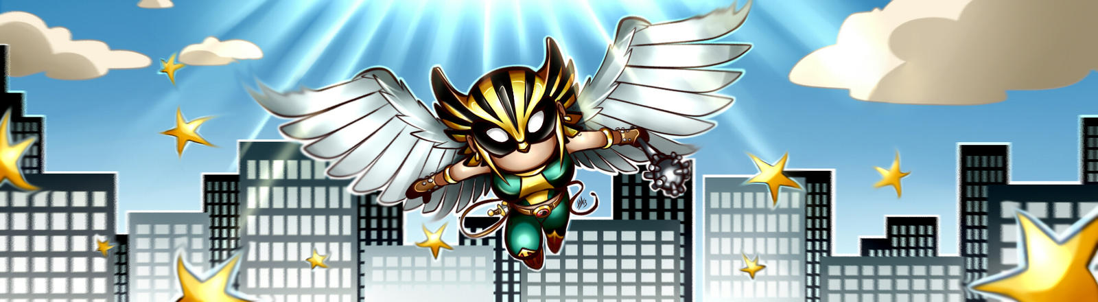 Scribblenaut Contest Entry: Hawkgirl by Smudgeandfrank