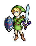 The Legend of Zelda Link Sticker