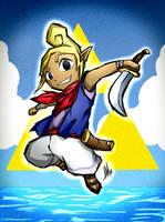 Legend of Zelda Wind Waker: Tetra by Smudgeandfrank