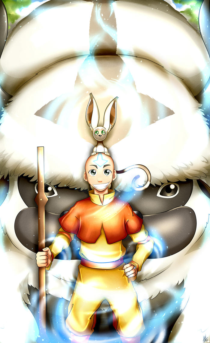 The Last Airbender by Smudgeandfrank