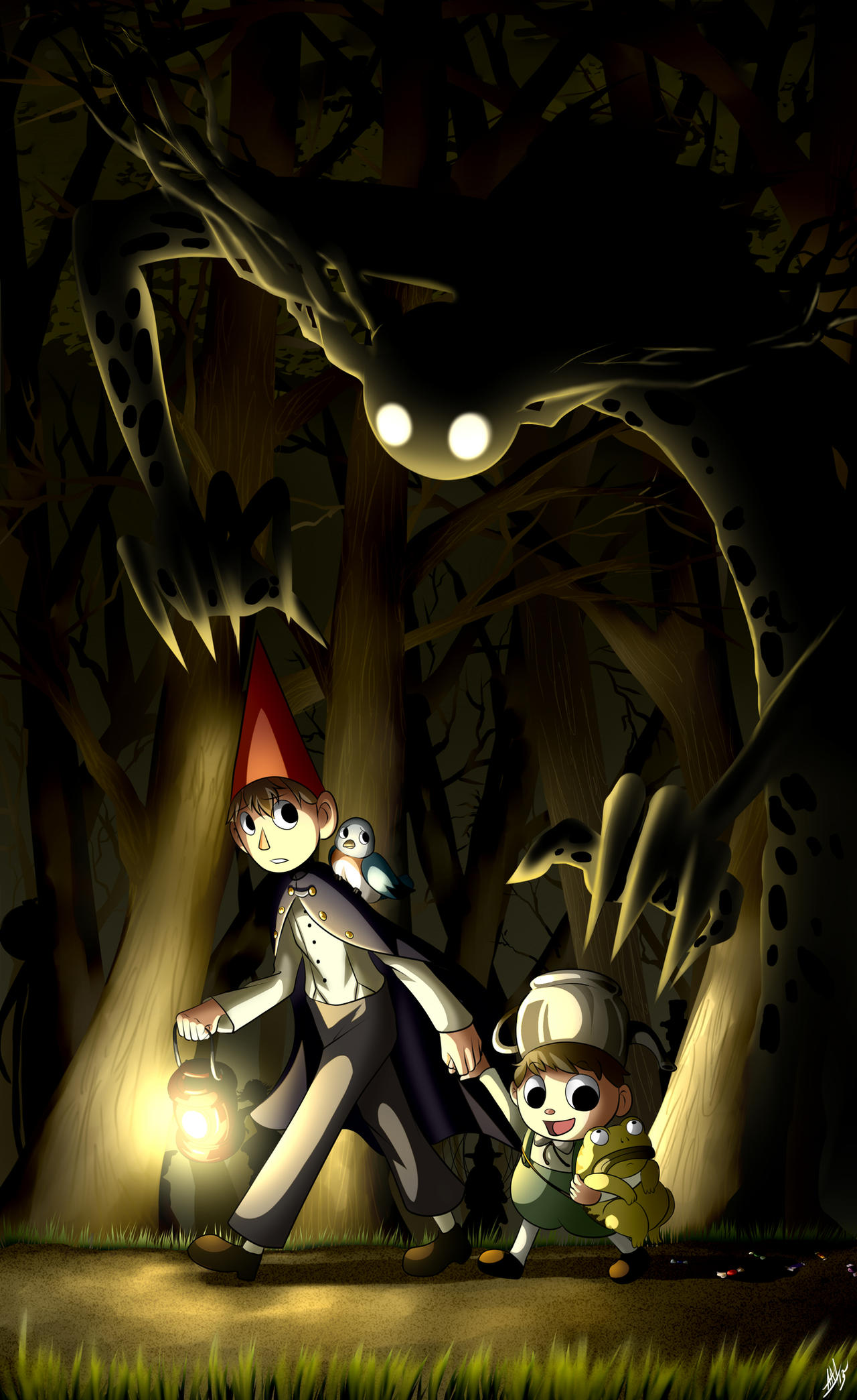 Over the garden wall by smudgeandfrank on deviantart for Over the garden wall watch online