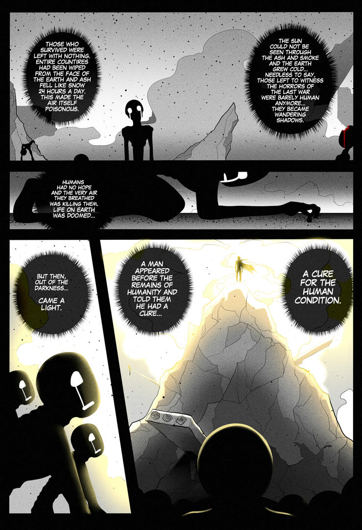F.R.E.E. (False Reality Eradicates Eden) Pg. 4 by Smudgeandfrank