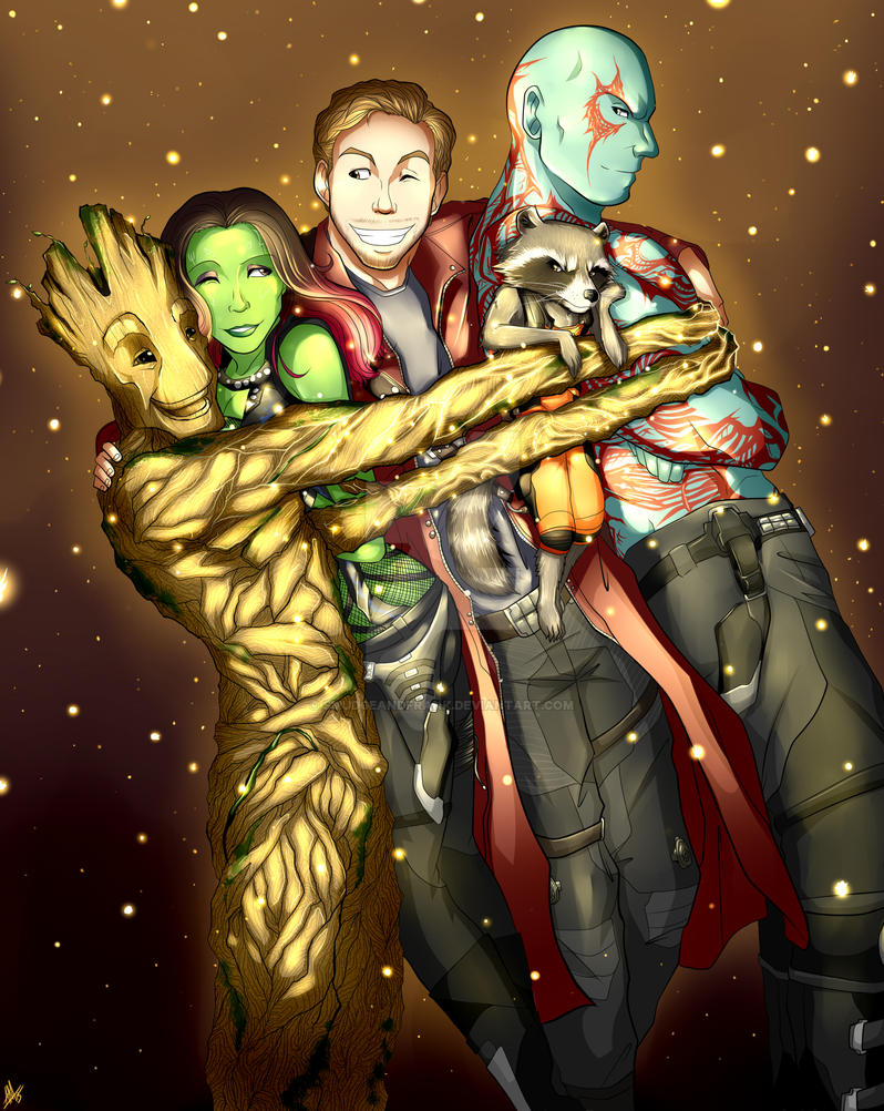 Guardians Of The Galaxy by Smudgeandfrank