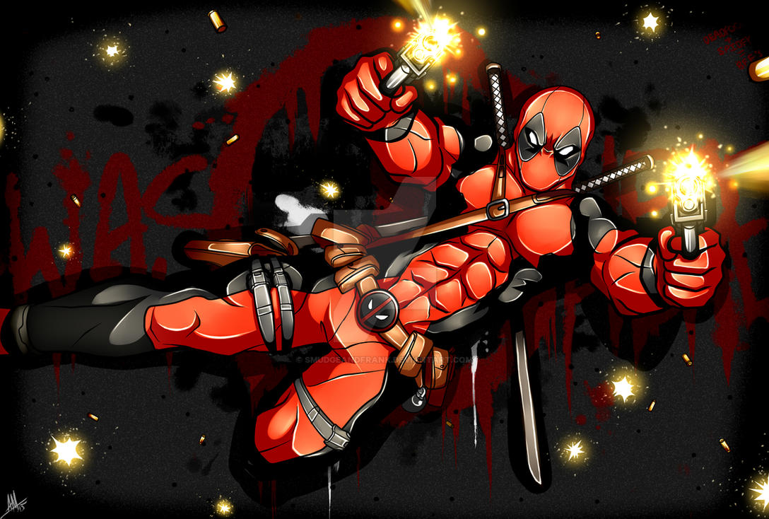 Deadpool Was Here by Smudgeandfrank